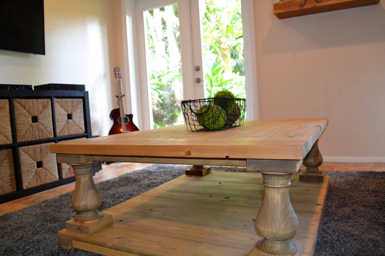 Balustrade Farmhouse Coffee Table