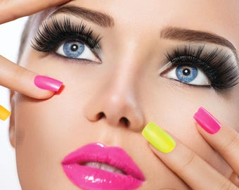 Beauty Salon Spa Poster - 4 Size Options - Nails/Manicure/Make-up/Massage/Tanning (7)