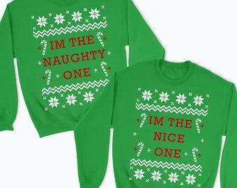 best friend christmas jumpers
