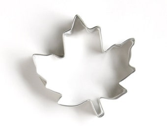 Maple Leaf Cookie Cutter, Traditional Maple Leaf Cookie Cutter, Fall Maple Leaf Cutter, Thanksgiving Cookie Cutter