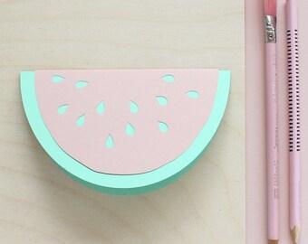 Papercut Watermelon Card