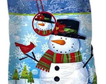 "Amscan Christmas Holiday Friends Giant Plastic Gift Sacks, Multicolor, 44"" x 36"""