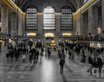 CUSTOM 16x20 Canvas Grand Central Station