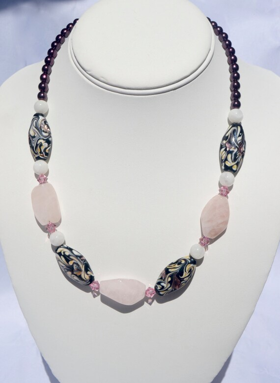 "18"" Rose Quartz Necklace"