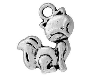 10 pendants Fox 3D obsolete money