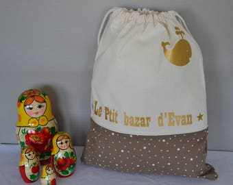 Personalized kids cotton