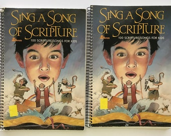 Sing A Song of Scripture 100 Scripture Songs For Kids (Lillenas Publisher)