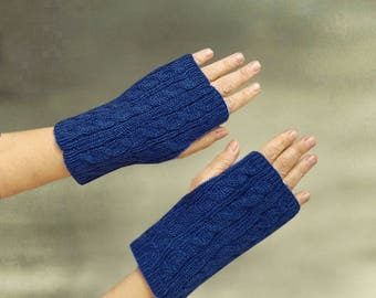 Fingerless mittens, Fingerless gloves, Knit arm warmers, Women's mittens, Armwarmers, Knit wristwarmers, Women's gloves, Girl's gloves mitts