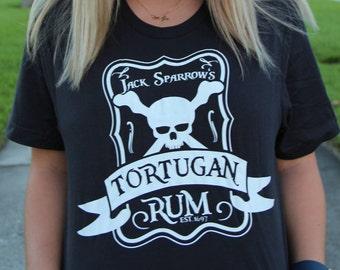 Jack Sparrow Tortugan Rum Shirt