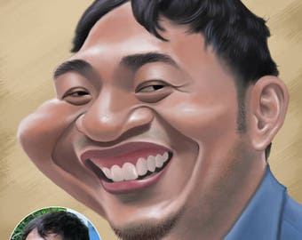 Custom Caricature Portrait