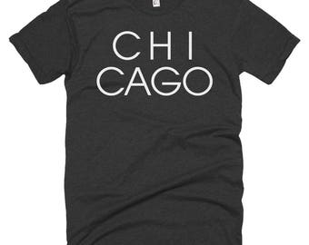 Chicago Letters T-shirt | Chicago Illinois