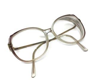 Retro 1980's Oversized Eyeglasses for Women
