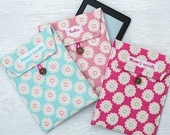 Personalised Kindle Case - kindle sleeve -- kindle paper white case - personalised kindle case - kindle cover