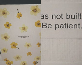 Patient Buttercups
