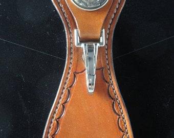 On Sale Handcrafted Leather Belt Loop/keyring