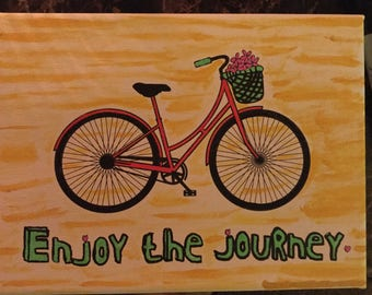 Enjoy The Journey Canvas