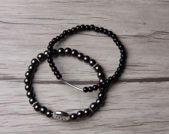 Anika bracelet duo