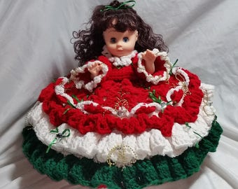 Holiday Pillow Doll