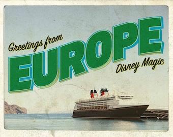 Disney Magic European Cruise