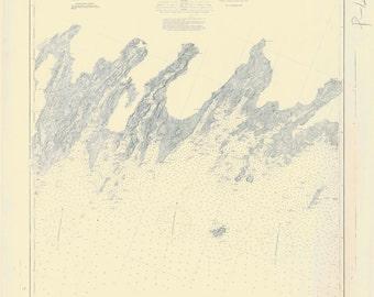 Penobscot Bay Maine Map 1880