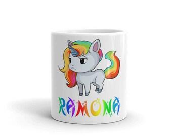 Ramona Unicorn Mug