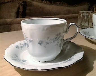 Johann Haviland cup and saucer