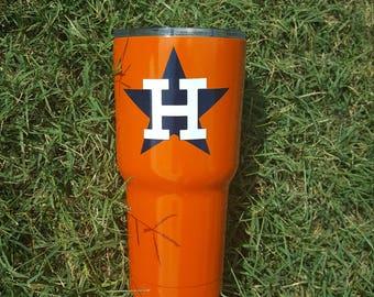 Houston Astros Tumbler by Drink Unique