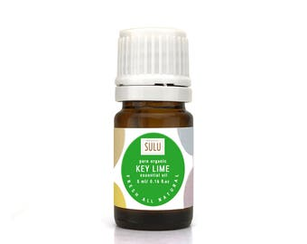 100% Pure and Natural Organic Therapeutic Grade  Key Lime Essential Oil
