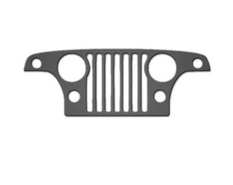 Jeep Jeepster Commando Grill Decoration Man Cave Garage Shop Wrangler YJ TJ