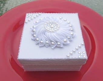 Money Gift packaging wedding, box, white Wedding box, money gift packaging, present, money present, white box
