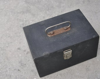 Small Wood Storage Box