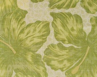 "Raoul Textiles ""Jamaica"" Hand Printed Linen Drapery Panels"