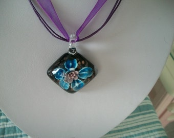 Murano Style Glass Necklace