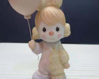 Precious Moments - Clowns - Girl w/ Balloons, 12238