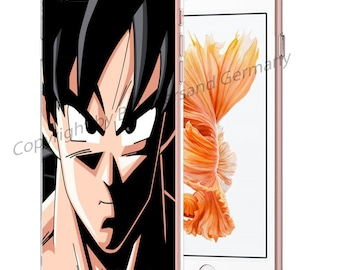 DRAGONBALL Z Smartphone transparent TPU Case with motif fit for Smartphone models Huawei iphone SAMSUNG Cartoon Comic M16