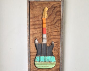 Electric Guitar Wall Decor