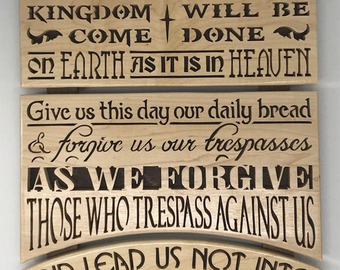 Featured listing image: Lord's Prayer Wall Plaque