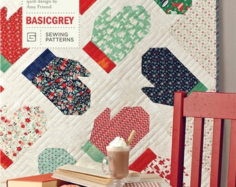 Mittens and Main Quilt Pattern by BasicGrey