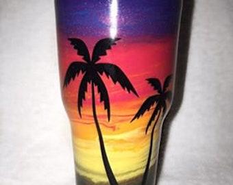Sunset Tumbler Cup