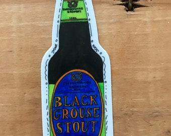 Black Grouse Stout  No. 62