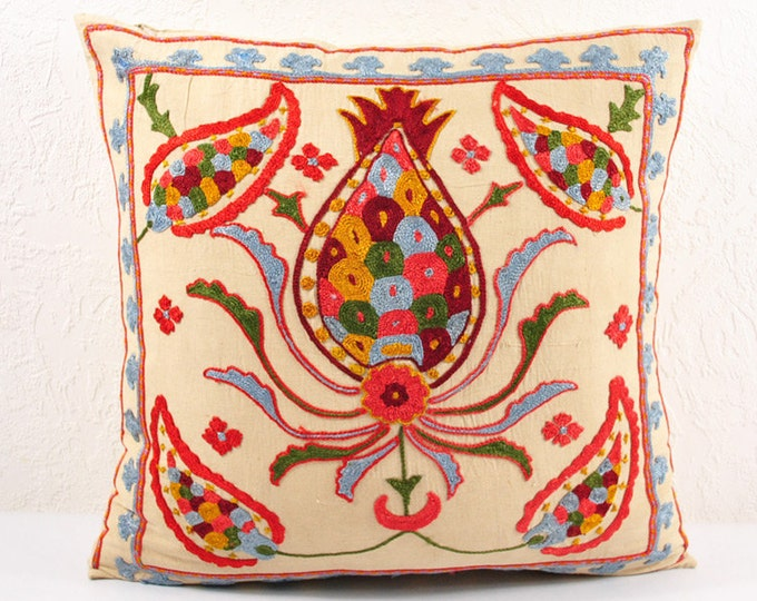 Handmade Suzani Pillow Cover usp109