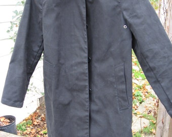 Vintage Black Gap Rain Coat