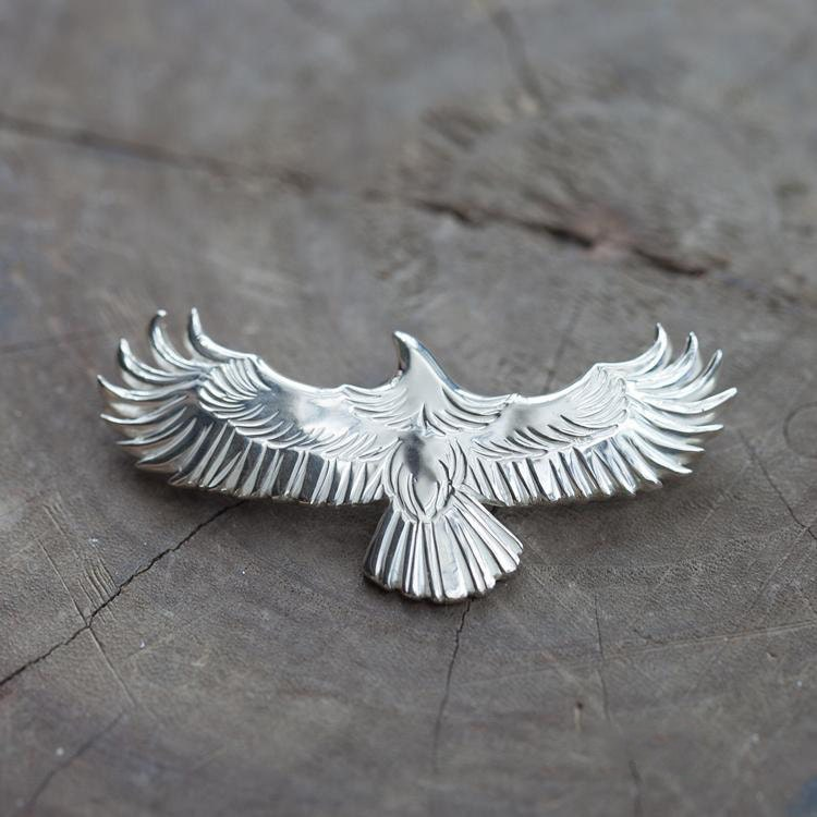 Silver eagle pendant native american inspired silver eagle silver eagle pendant native american inspired silver eagle necklace flying bird pendant silver eagle charm oxidized silver pendant mozeypictures Gallery