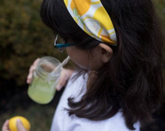 Lemonade Stand Headband