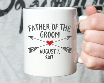 Father of the Groom Gift from Groom Father of the Groom Gift from Son Father of the Groom Wedding Gift for Dad Wedding Gift Ideas Mug Cute