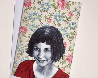 Amelie Illustrative A5 Card