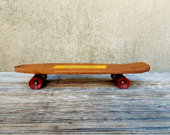 Vintage Newporter New Old Stock Skateboard by Veriflex Panther Wheels