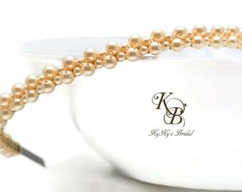 Pearl Bridal Headband, Pearl Headband, Bridal Headpiece, Bridal Headband Pearl, Bridal Tiara, Pearl Tiara, Bridal Head Piece, Hair Jewelry