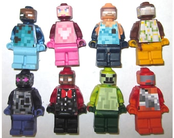 Stocking Stuffers for Kids Crayons Zombie Video Game inspired Mini figure Crayons - 8 per set Gift Boxed