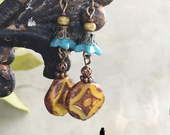 E010 AUGUST GARDEN Earrings